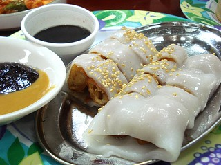 Fried dough cheung fun from China House at Pacific Plaza, Wembley, London HA9