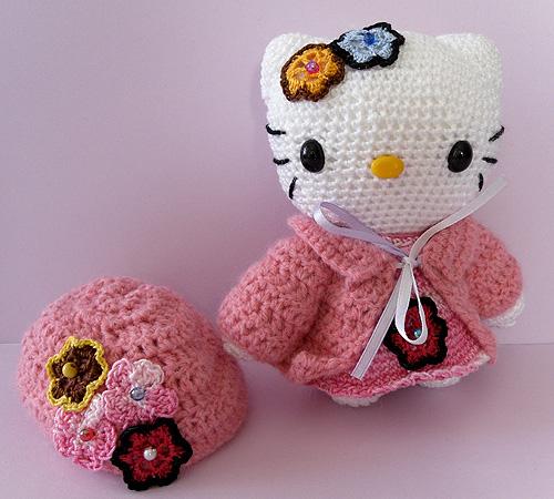 Amigurumi De Hello Kitty : HELLO KITTY Amigurumi whit hat Flickr - Photo Sharing!