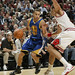 Joakim Noah defense Golden State guard Stephen Curry