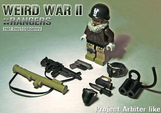 Weird War II rangers project arbiter like 2