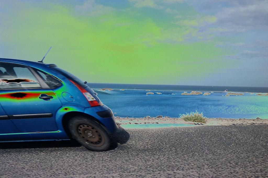 Fuerteventura solarizada en movimiento