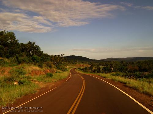 Ruta  Misiones - Argentina by PAWLUK IVAN