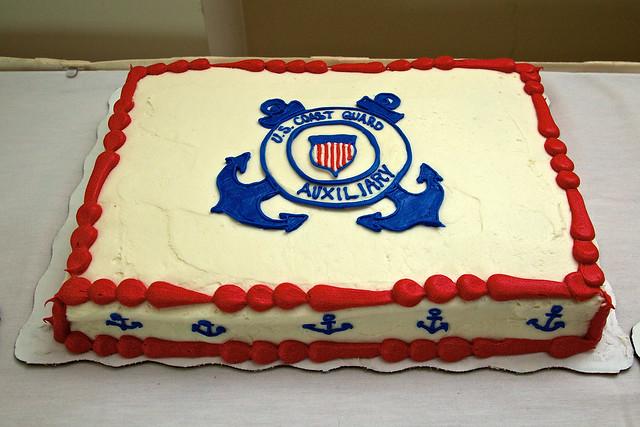 Coast Guard Cake Ideas