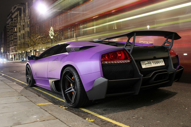 Galaxy Purple Lamborghini Aventador 1366x768 Carporn