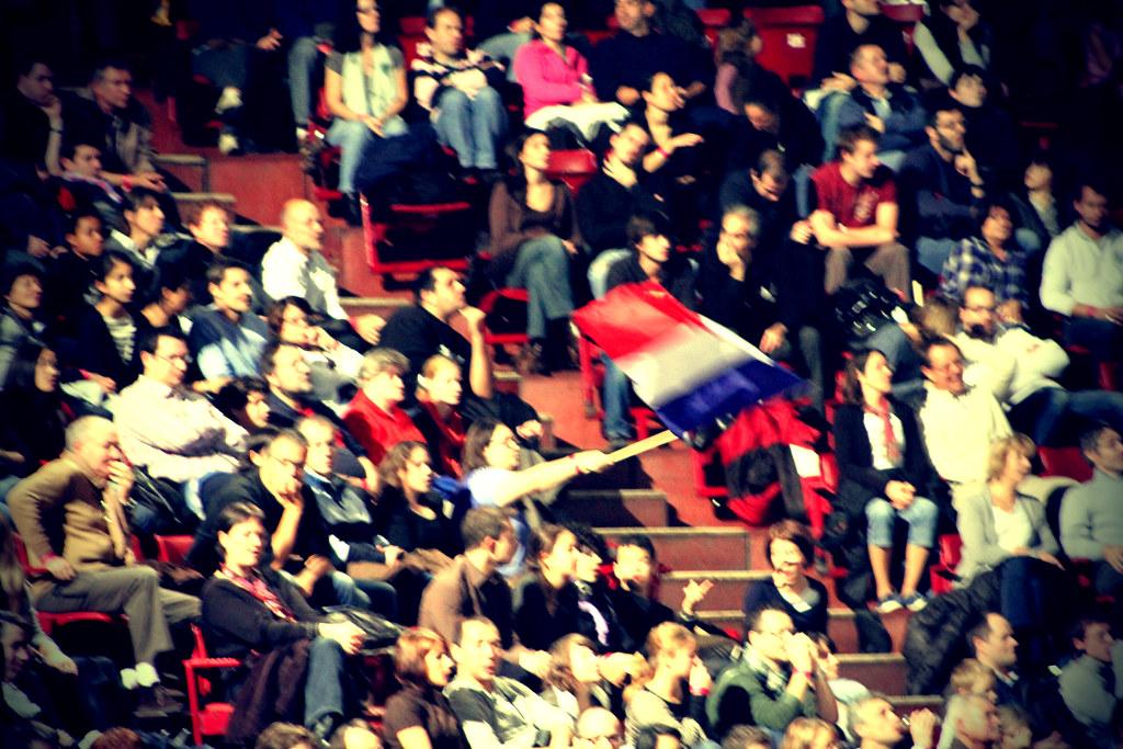 Bercy crowd