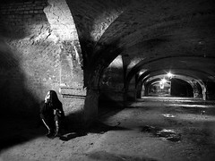 Photo sesion in the tunnel-IV. Work with model