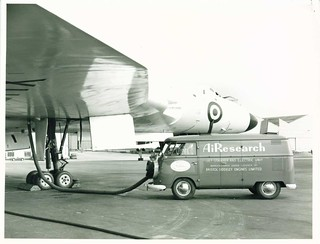 Avro Vulcan and VW Transporter