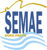 Logotipo SEMAE branco