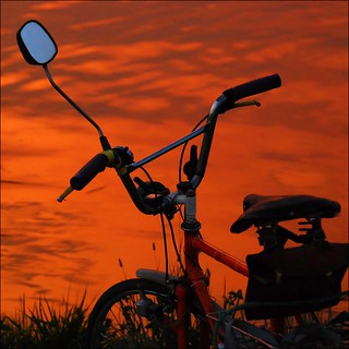 Sunset bike