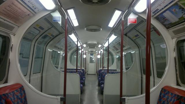Empty (train on the) Underground, 10:54