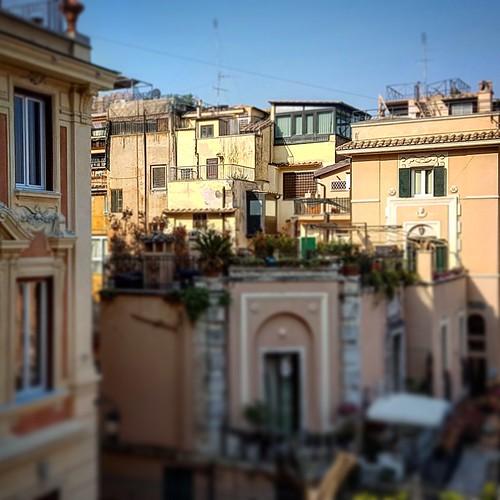 Roma: vista di piazza di Spagna