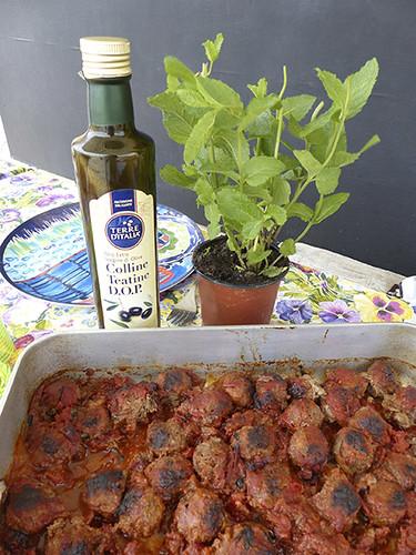 boulettes de boeuf à l'italienne