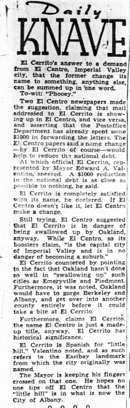 el cerrito el centro Oakland_Tribune_Wed__Jul_20__1949_