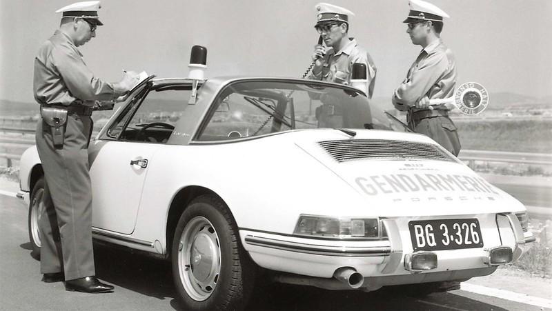 Porsche Targa austriackiej żadnarmerii