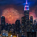 NYC Fourth Of July Fireworks by Susan Candelario