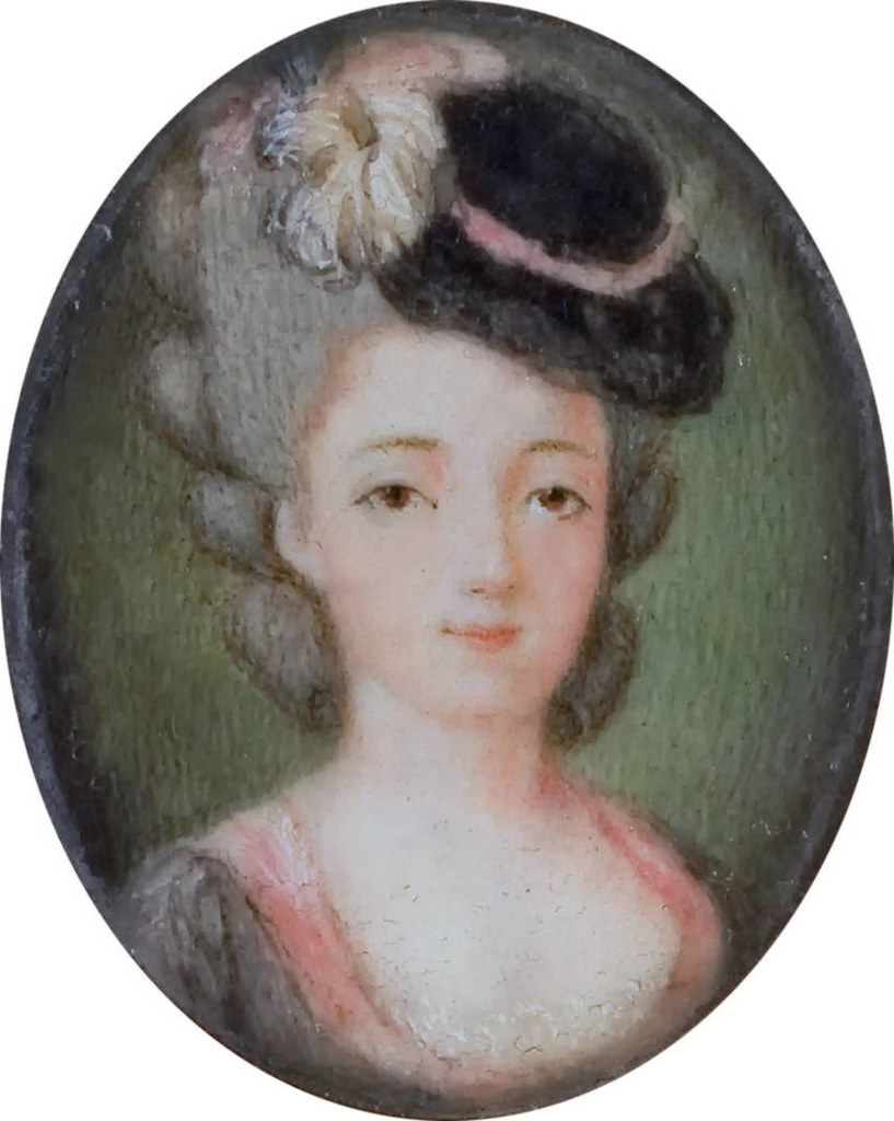Marie Adrienne Francoise de Noailles, Marquise de La Fayette (1759-1807)