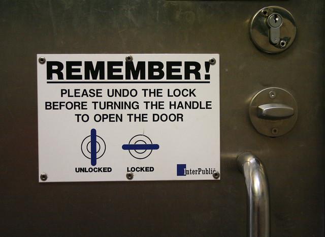 HOW TO UNLOCK BATHROOM DOOR WOOD DOORS