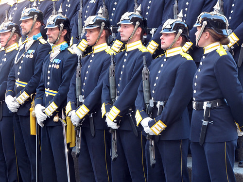Swedish Royal Guard, Stockholm