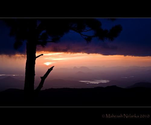 sun sunrise canon kitlens sri lanka srilanka ceylon 1855mm 400d dumbara maheash nelanka