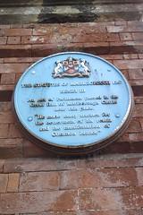 Photo of Henry III blue plaque
