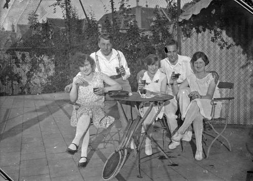 Ernst Casimir tennisbaan 29-6-28