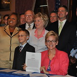 Complete Streets Bill Signing with Michigan Governor Jennifer Granholm