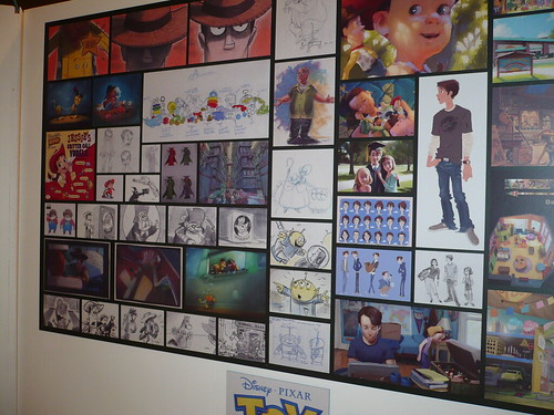 Sketches for Toy Story