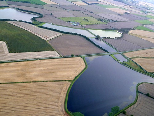Whittledene reservoirs and the site of Milecastle 17 (extreme right)