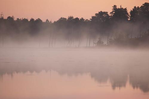 Dawn at Chatsworth lake