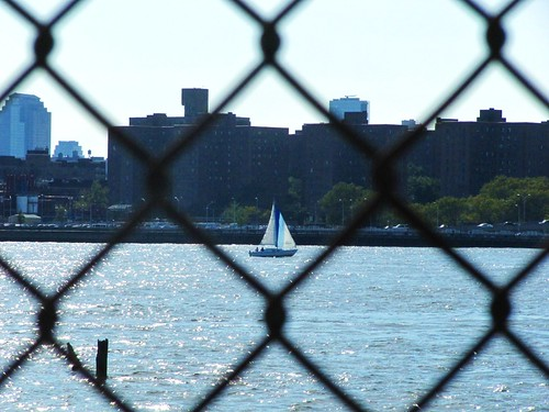 Boating on East River, Labor Day
