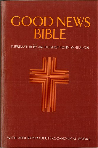 TEV Bible Catholic Cover