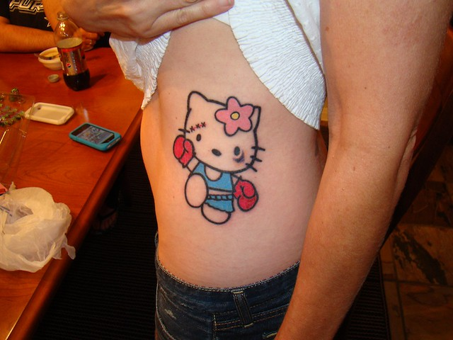 Hello Kitty Boxer by Monica Rodriguez