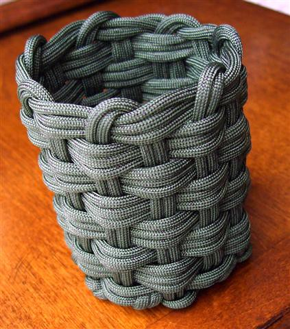 woven paracord can koozie 4 another woven paracord can