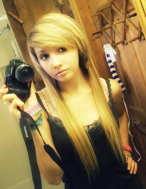 girl 2010 emo hair pretty