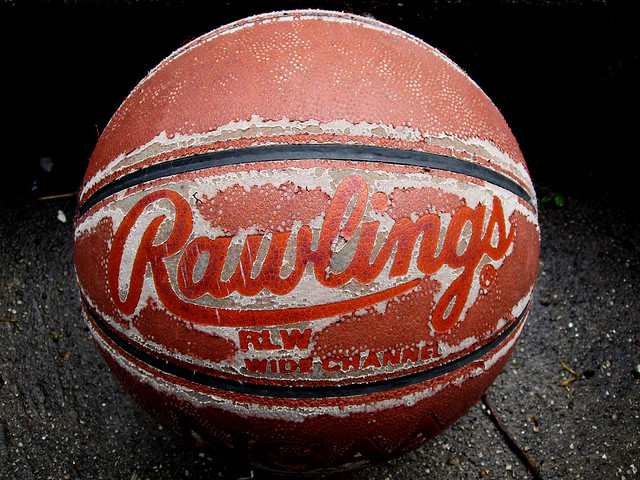 My Old Basketball