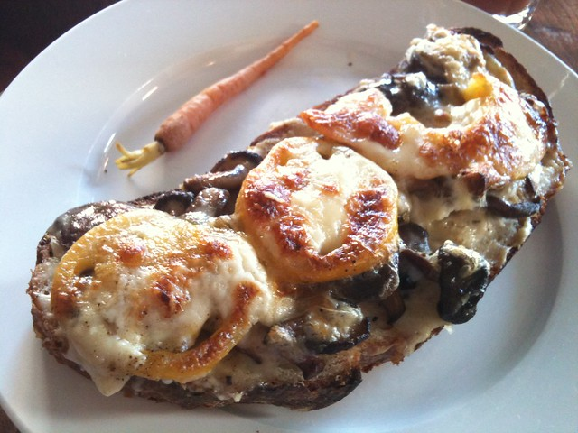 ... the most amazing shitake mushroom croque monsieur at T… | Flickr