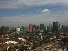 Jakarta from 29th floor