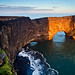 Iceland - Dyrhólaey: Spotlight on the Arch