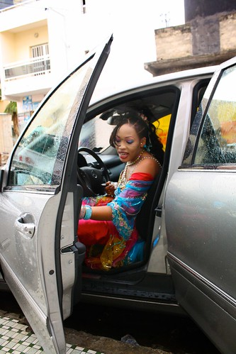 <p>Oumou Sow is know for her songs abut vehicles, and loves to drive herself to every gig in her own car.</p>