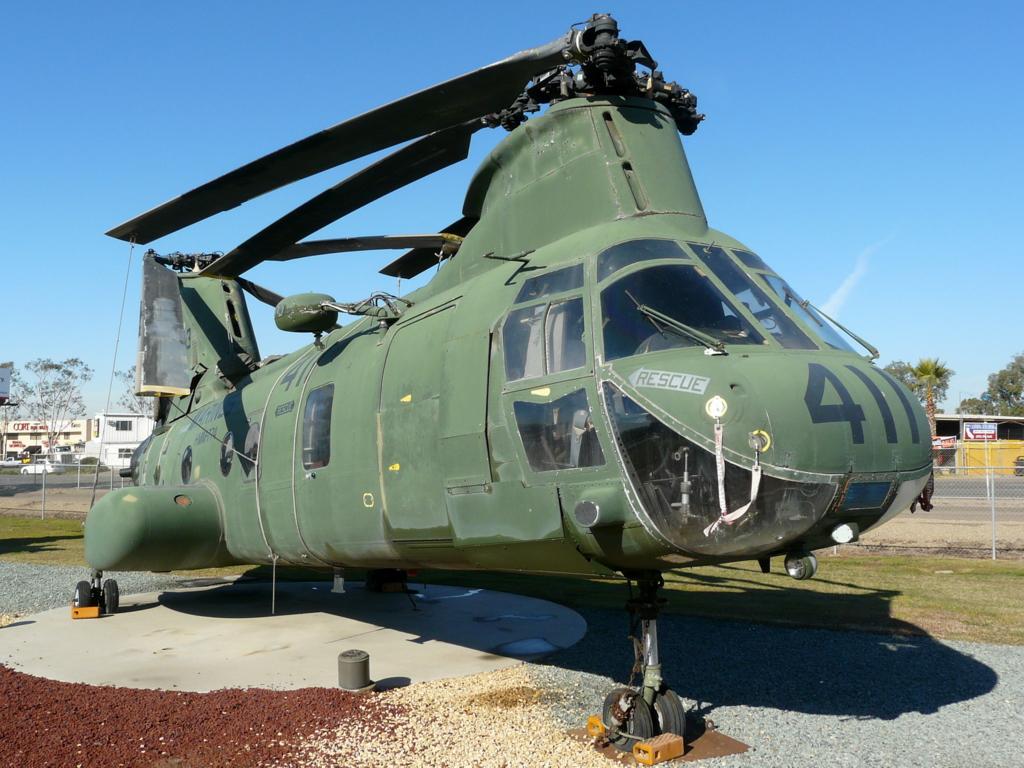 Boeing Vertol CH-46D Sea Knight 154803