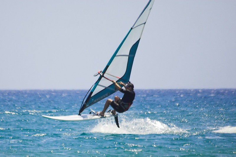 Windsurfing in the Greek islands flickr image by surfmaniaq