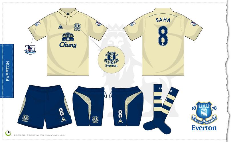 Everton third kit 2010 2011  70191dcbf