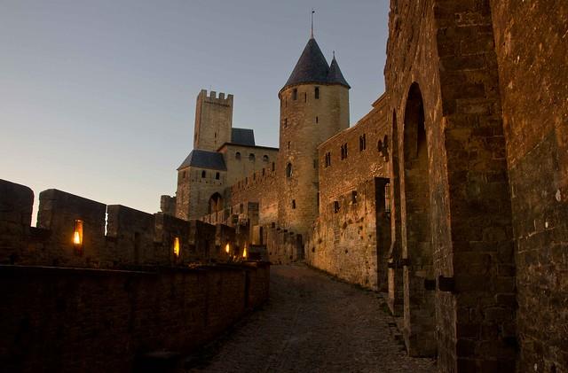 Walls at Carcassonne