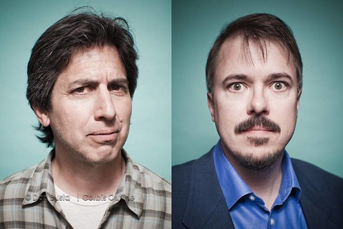 "Ray Romano and ""Breaking Bad"" creator, Vince Gilligan 