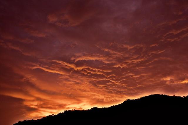 Sunset + high pass filter