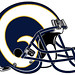Small photo of Rams Helmet Concept