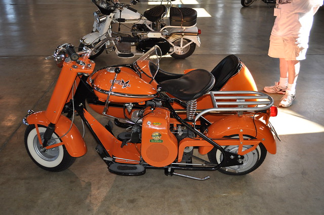 Sidecar Ride App >> Cushman with sidecar | Flickr - Photo Sharing!