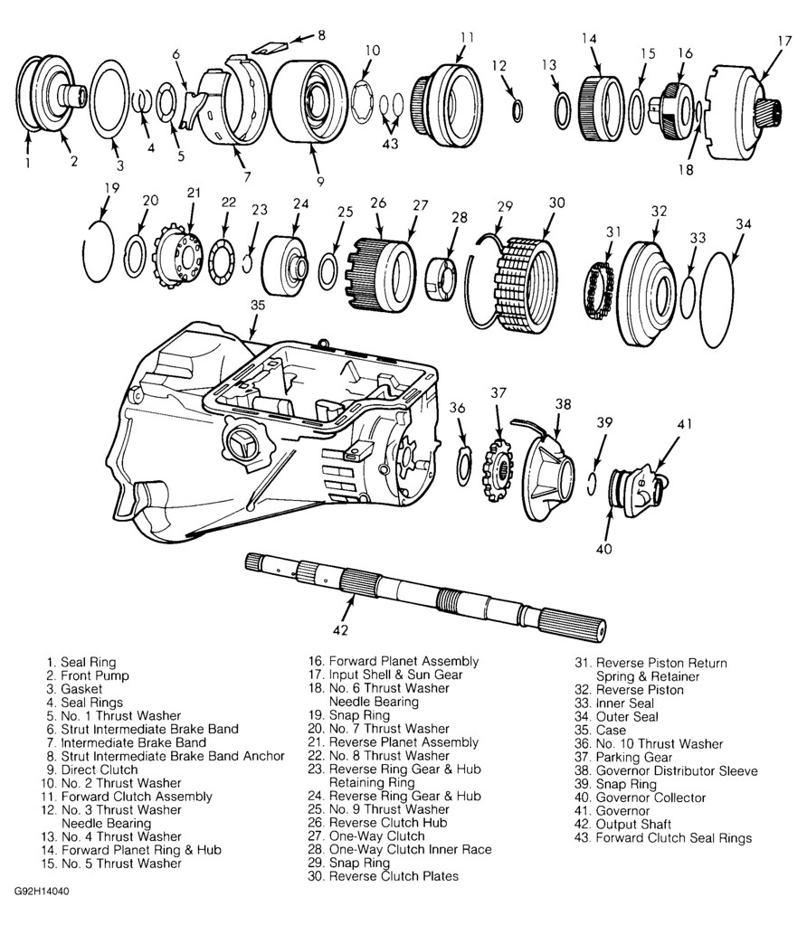 ford c6 transmission diagram  ford  free engine image for