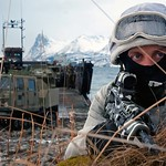 Royal Marines Stage Amphibious Landing in Norway