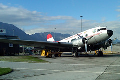 aviation, narrow-body aircraft, airliner, airplane, propeller driven aircraft, vehicle, douglas c-47 skytrain, tarmac, douglas dc-3,